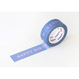 Taśma ICONIC Masking Tape Happy Birthday