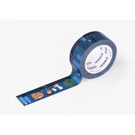Taśma ICONIC Masking Tape Campfire