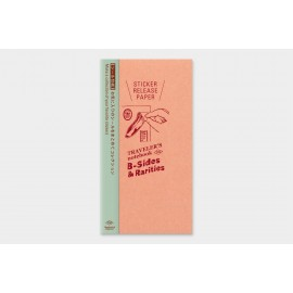 Traveler's Notebook Refill B-Sides & Rarities Sticker Release Paper