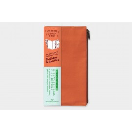 Wkład do Traveler's Notebook B-Sides&Rarities: Kieszonka na zamek pomarańczowa
