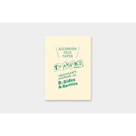 Wkład do Traveler's Notebook Passport Size B-Sides&Rarities: Papier składany