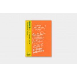 Traveler's Notebook Passport Size Refill B-Sides & Rarities Super Lightweight Paper