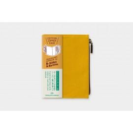 Traveler's Notebook Passport Size Refill B-Sides & Rarities Cotton Zipper Mustard