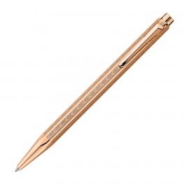 Caran D'Ache Ecridor Chevron Rose Gold Ballpoint Pen