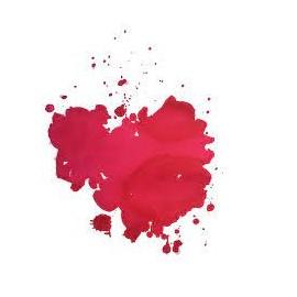Atrament Krishna Lyrebird Inks Water Rose Red 30 ml
