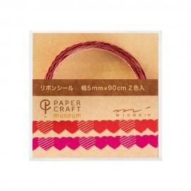 Decorative Tape for Scrapbooking Midori PCM Hearts