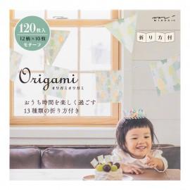 Midori Origami Paper Pad Motif 120 sheets