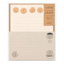 Midori Letter Set Smile Cookies