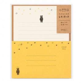 Midori Letter Set Smile Bear