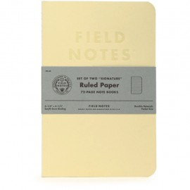 Field Notes Signature Lined 2-Packs