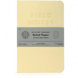 Notesy Field Notes Signature 2 szt. w linie