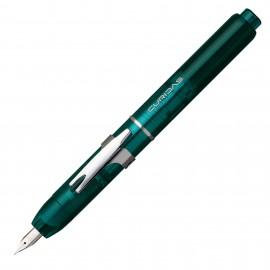 Platinum Fountain Pen Curidas Urban Green