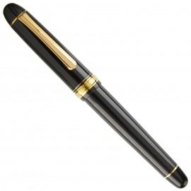 Platinum Fountain Pen Century 3776 Music Nib Black