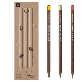 Ołówki Caran D'Ache Nespresso Swiss Wood 4 Edycja Limitowana