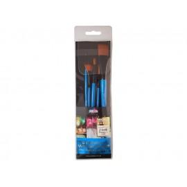 Zieler 5 Premium Watercolour Fine Taklon Brushes