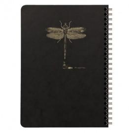 Clairefontaine Flying Spirit Wirebound Notebook Black A5