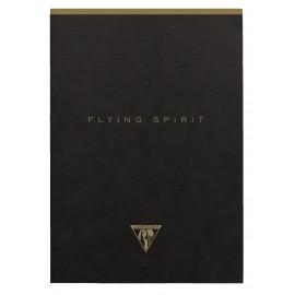 Pad z perforacją Clairefontaine Flying Spirit Black A6