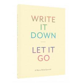 Pamiętnik Chronicle Books Write It Down Let It Go
