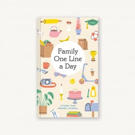 Family One Line a Day: A Three Year Memory Book