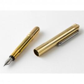 BRASS fountain pen