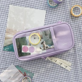 ICONIC Cottony Grand Pen Pouch Lavender