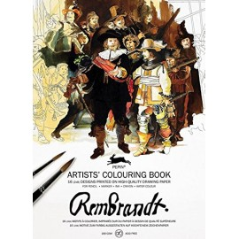 Pepin Artists' Colouring Book: Rembrandt