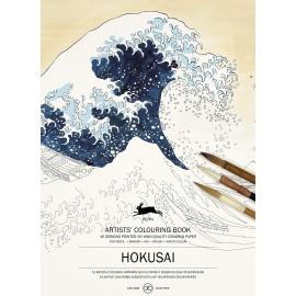Pepin Artists' Colouring Book: Hokusai