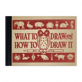 """E.G. Lutz """"What to draw and how to draw it?"""" Sketchbook"""