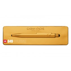 Długopis Caran D'Ache 849  Pop Line Goldbar