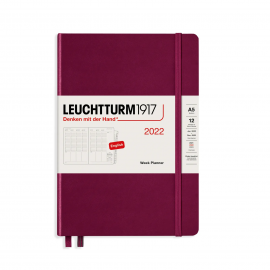 Lauchtturm1917 Weekly Planner 2022 Port Red (A5)