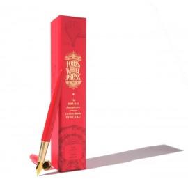 Ferris Wheel Press The Brush Fountain Pen Red Carpet - Gold Plated Nib