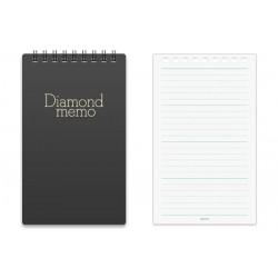 Midori Diamond Memo Czarny