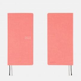Hobonichi 2022 Weeks Colors: Peach