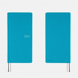 Kalendarz Hobonichi Weeks Mega 2022 Colors: Sunny Blue