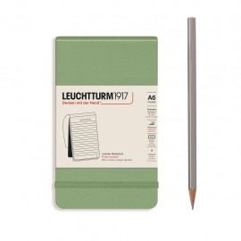 Notes Reporterski Leuchtturm1917 Notepad w linie Muted Colours Sage