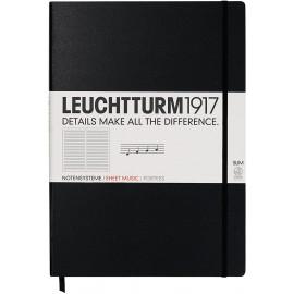 Lauchtturm1917 Master Slim Notebook with Staves
