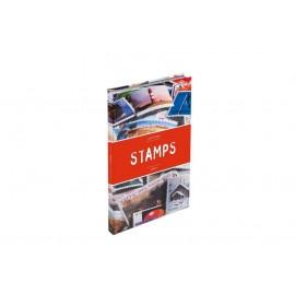 Klaser na znaczki Leuchtturm Stamp Album A5 - czerwony