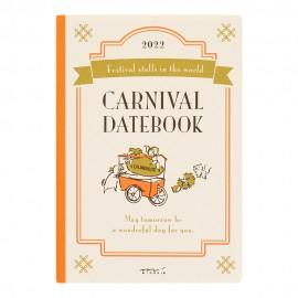 Midori Pocket Diary (B6) Carnival 2022