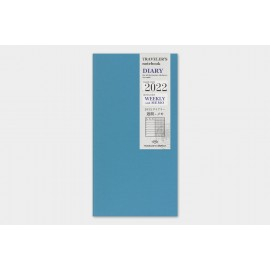 Traveler's Noteboook 2022 Weekly + Memo Refill