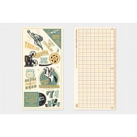 Traveler's Notebook Plastic Sheet 2022