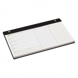 Gallery Leather Undated Weekly Pad Planner