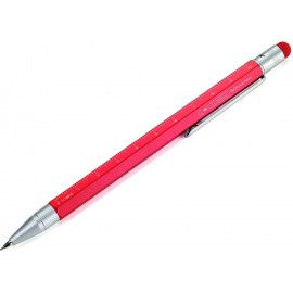 Troika Construction Mechanical Pencil Red