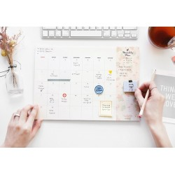ICONIC Pattern monthly desk pad