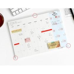 Planer miesięczny ICONIC
