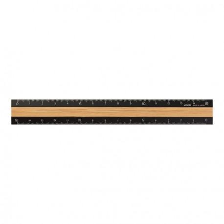 Midori Wooden Ruler 15 cm New