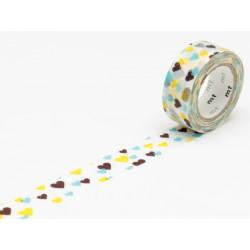 MT tape for children motif heart