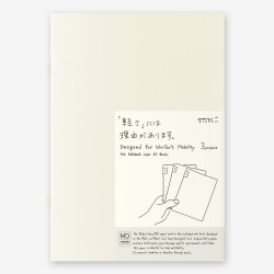 MD Paper Light Notebook (plain) A5