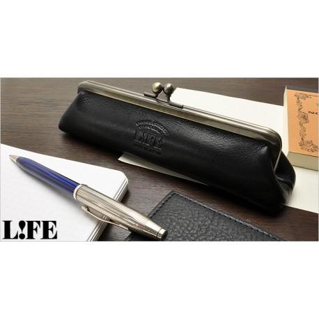 Life retro pencil case brown