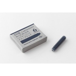 Traveler's Notebok ink cartridges blue black