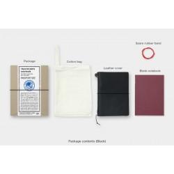 Traveler's Notebook (Passport size) Black
